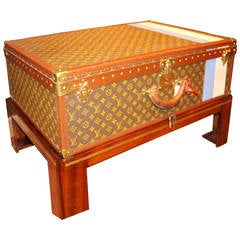 Vuitton Trunk as a Coffee Table