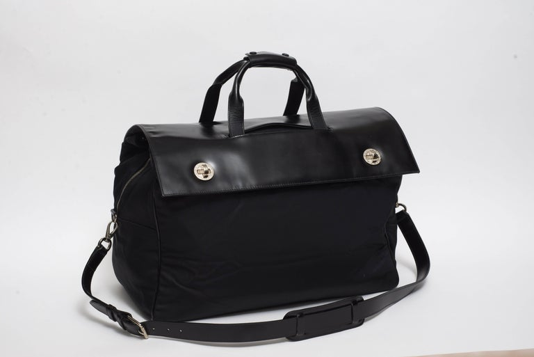 Bulgari Rare Millennial Large Week End Bag In Good Condition For Sale In New York, NY