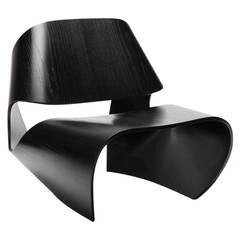 Made in Ratio Cowrie Chair in Ebonized Ash