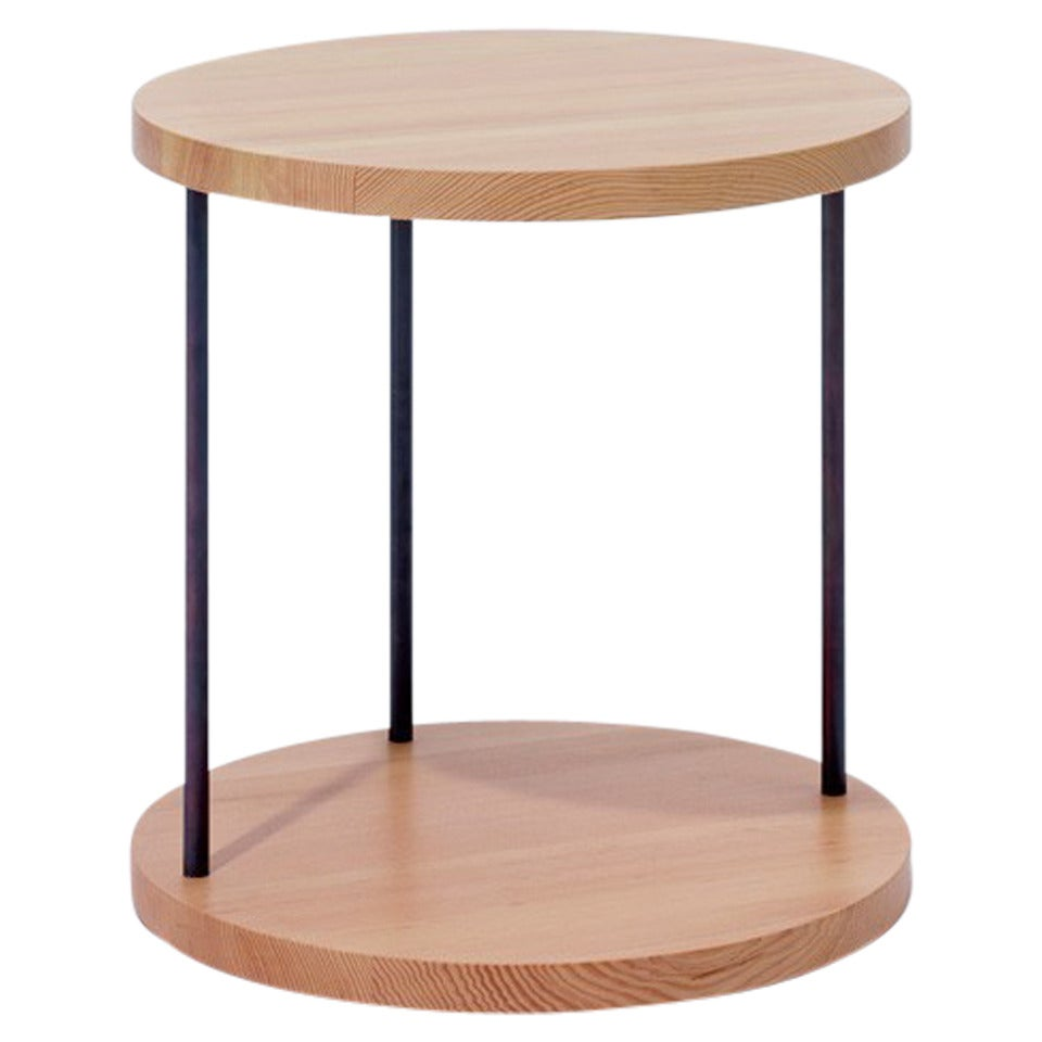 Terence Woodgate For Scp Mag Side Table Round For Sale At