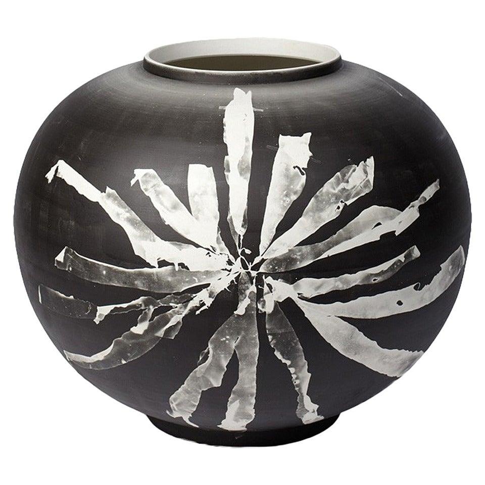 round silverware vase at 1stdibs