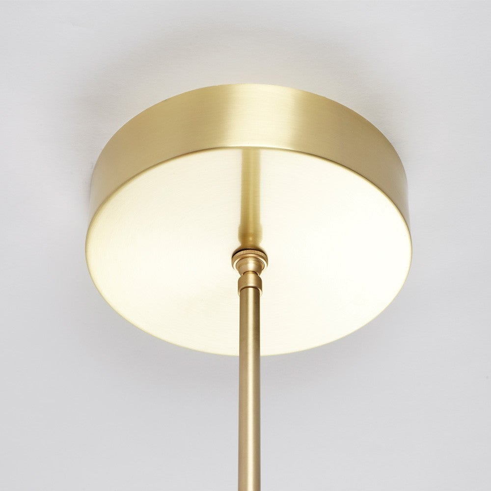Paul Loebach for Roll and Hill Four-Ring Halo Chandelier ...