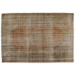 Decolorized Rug, Brown Orange by Golran