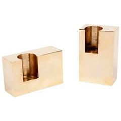 Rectangular Lump Candleholders
