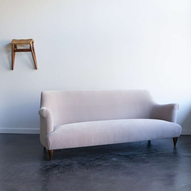 Russell Pinch for The Future Perfect Goddard Sofa in Dove 5