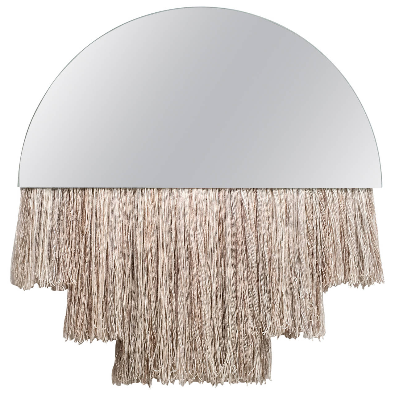 Half Moon Mirror For