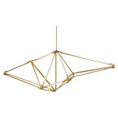 Bec Brittain Brushed Brass Shy 01 Chandelier