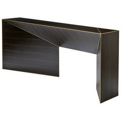 """Vertigo"" Console Table by Hervé Langlais for Galerie Negropontes"