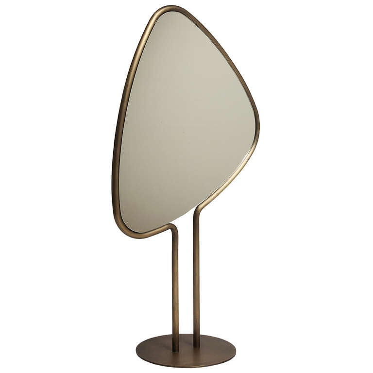 "Mirror ""Leaf"" by Herve Langlais for Galerie Negropontes"