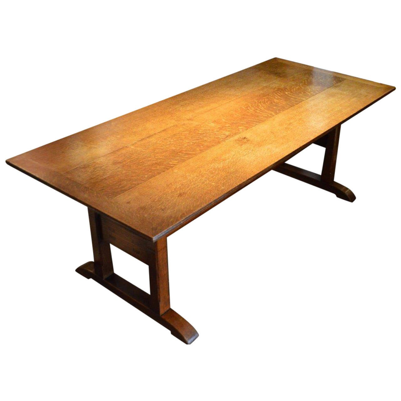 Rare Oak Arts and Crafts Period Dining Table by Arthur  : 2139722l from www.1stdibs.com size 1280 x 1280 jpeg 89kB