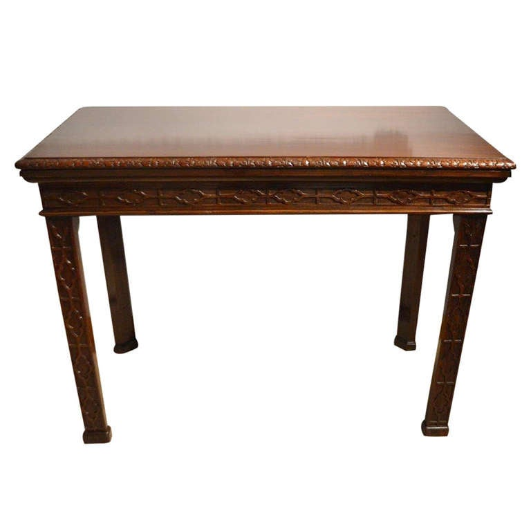 Beautiful late victorian mahogany chippendale style side Beautiful end tables