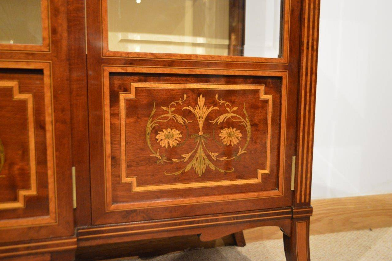 #CA7201 Mahogany Inlaid Antique Display Cabinet By Edwards And  with 1280x851 px of Recommended Mahogany Display Cabinets With Glass Doors 8511280 save image @ avoidforclosure.info