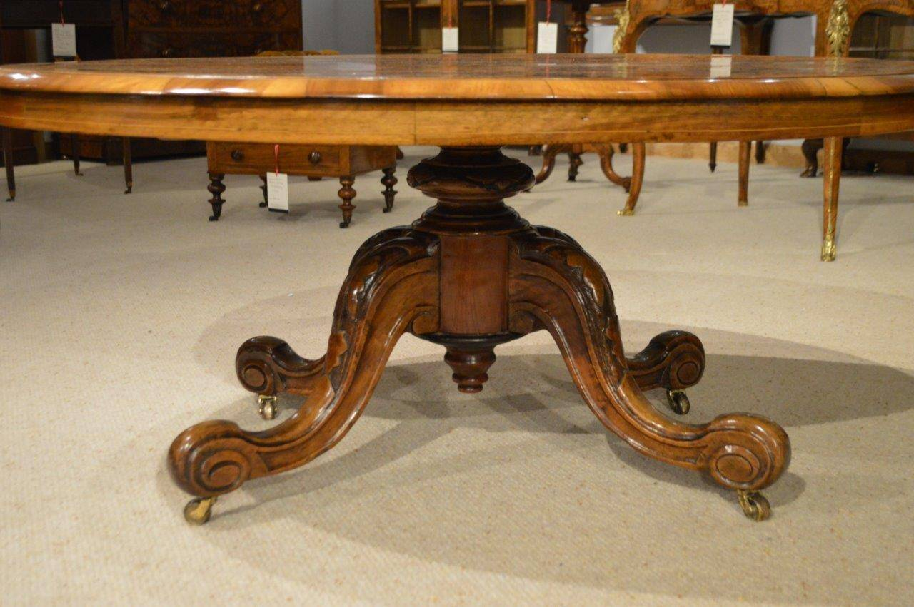 Burr Walnut And Marquetry Inlaid Victorian Period Antique Coffee Table At 1stdibs