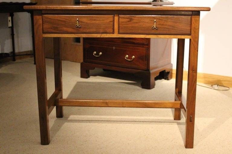 British A Rare Walnut Arts U0026 Crafts Period Side Table By Ernest Gimson For  Sale
