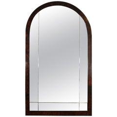 1930´s Art Deco mirror, walnut - France