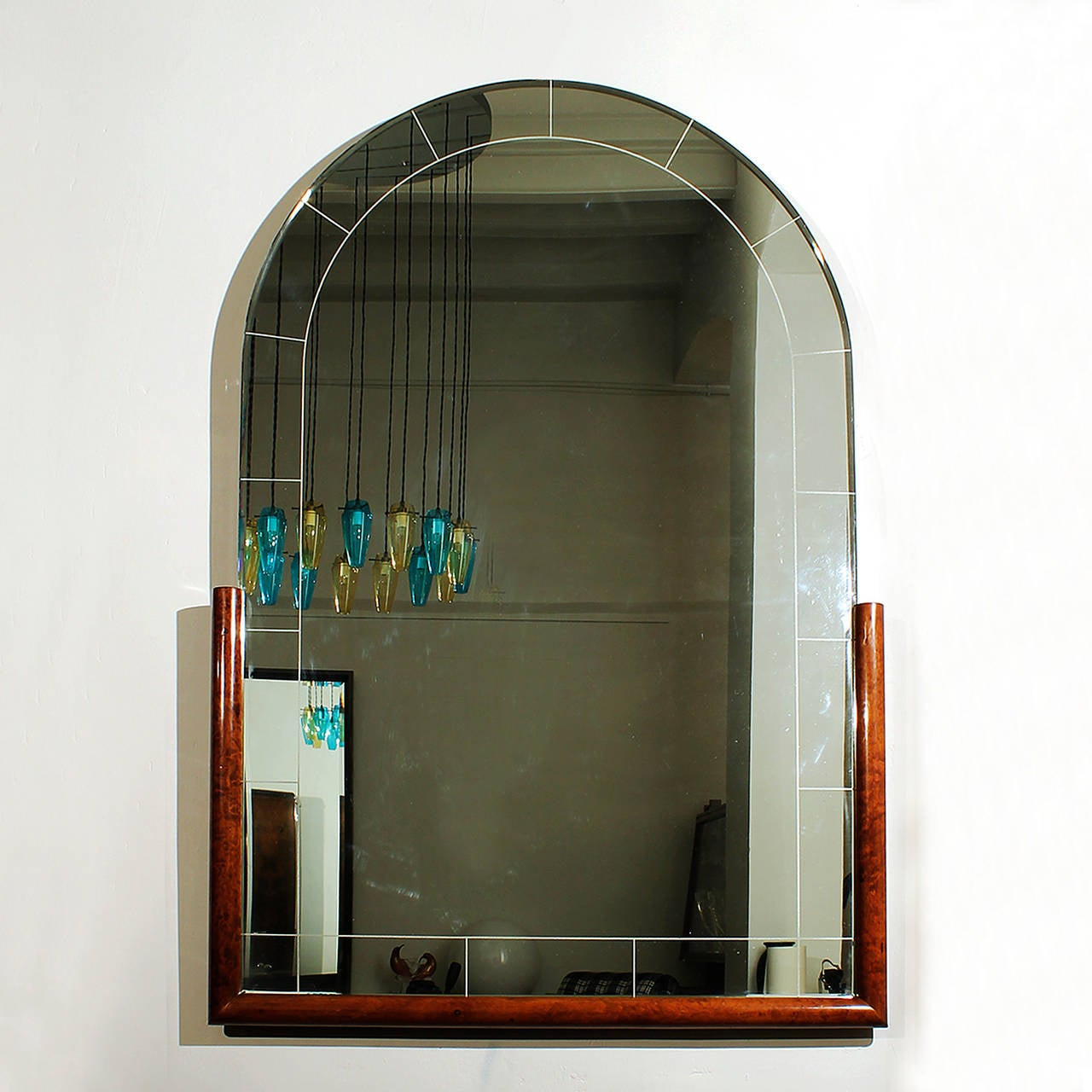 Art deco french mirror at 1stdibs for Miroir art deco