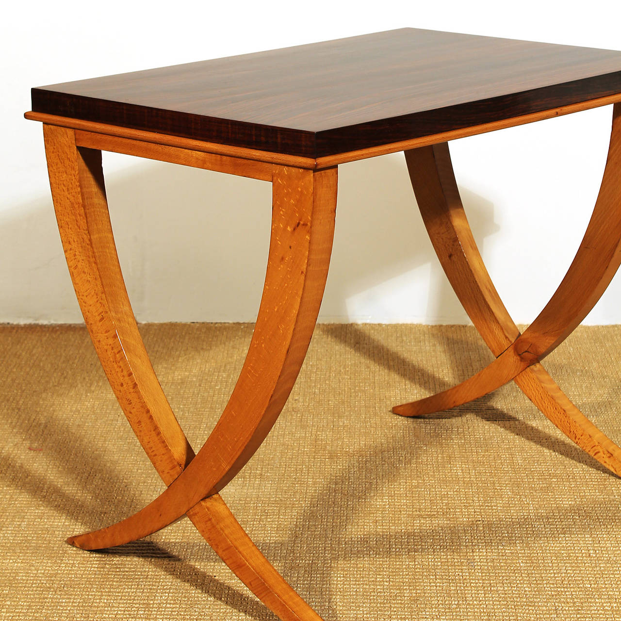Nesting Tables By De Coene From The 40´s For Sale At 1stdibs. Full resolution  photograph, nominally Width 1280 Height 1280 pixels, photograph with #B74D0E.