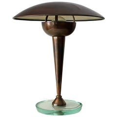 Art Deco Desk Lamp by Stilnovo