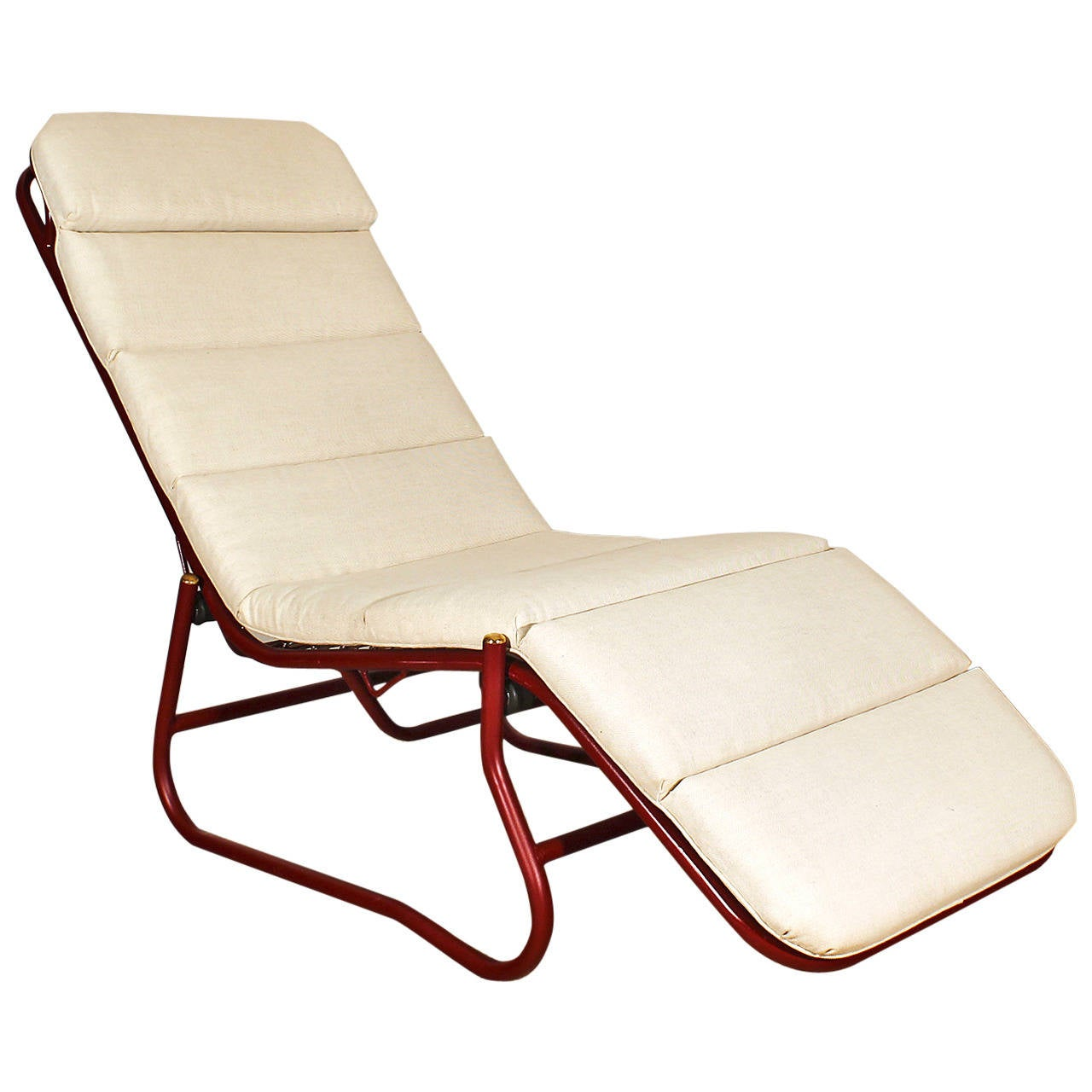French bauhaus style chaise longue at 1stdibs for Chaise longue barcelona