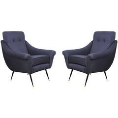 Pair of italian Armchairs from the 1950s