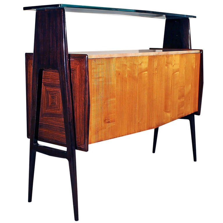 Italian center dry bar at 1stdibs for Home dry bar furniture