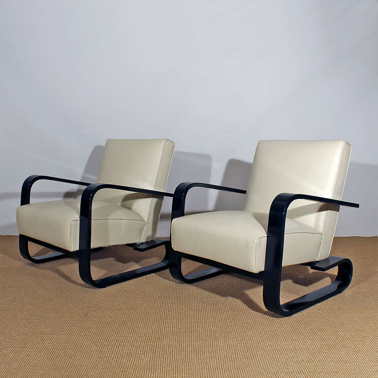 Art deco living room set at 1stdibs for Art deco living room chairs