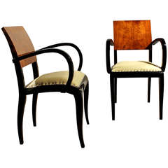 Pair of Small Armchairs