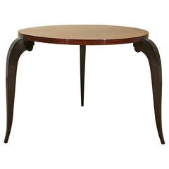 Round and Tripod Sidetable