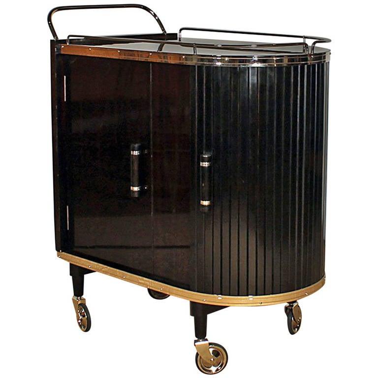 French Dry Bar Cart At 1stdibs