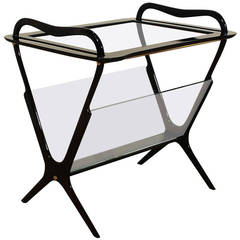 Table and Magazine Rack by Ico Parisi