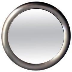 1960´s Narciso mirror by Sergio Mazza, aluminium frame - Italy