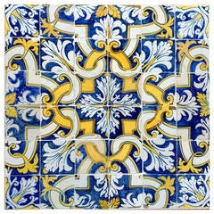 17th Century, Portuguese Tile Pattern