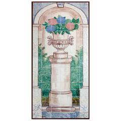 19th Century Portuguese Tile Mural