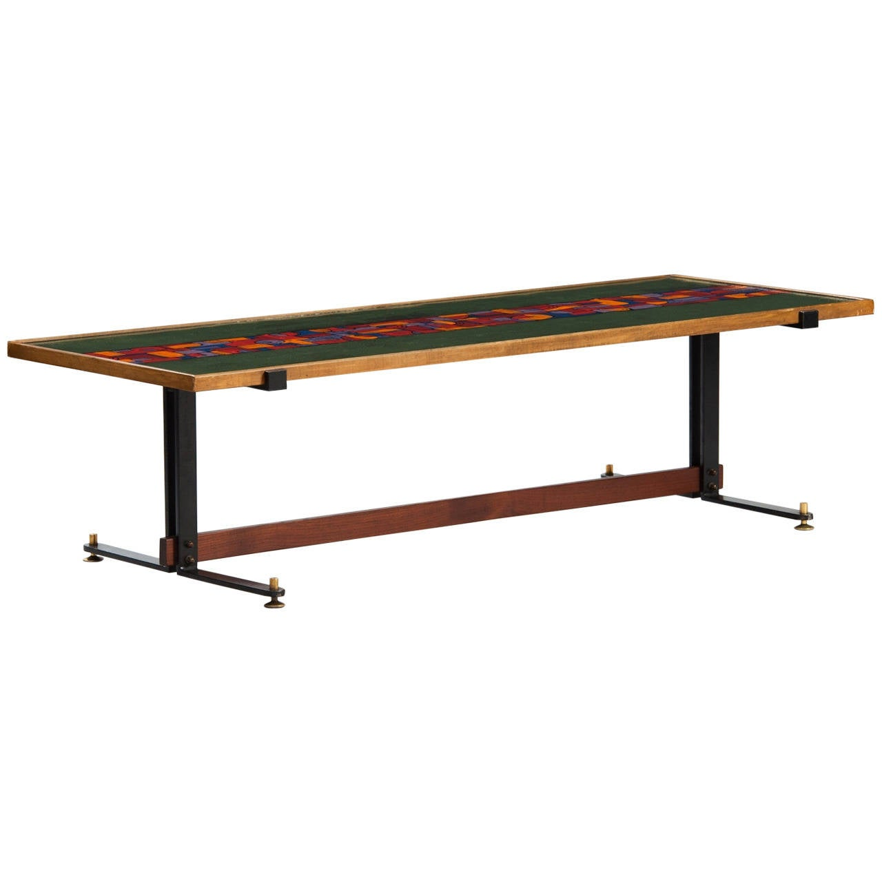 Italian Enameled Coffee Table For Sale At 1stdibs