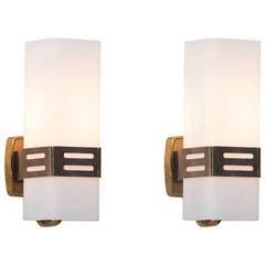 Pair of Stilnovo Wall Lamps