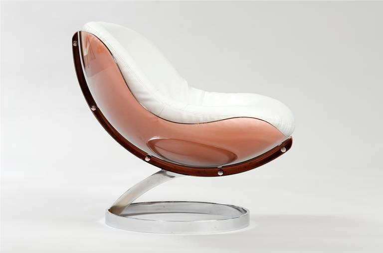 "Boris Tabacoff ""Sphere"" chair at 1stdibs"