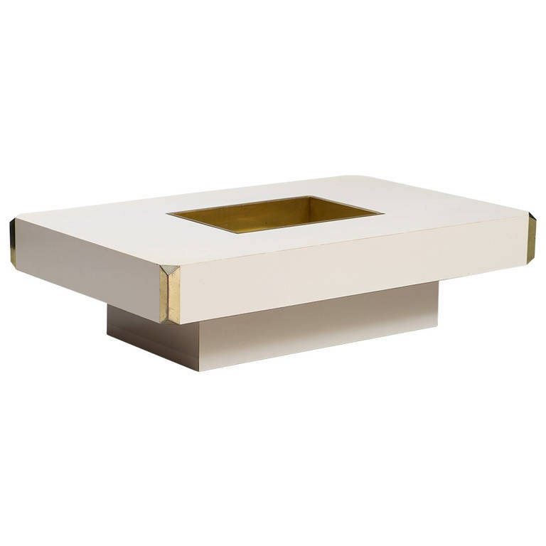 Willy Rizzo Coffee Table At 1stdibs