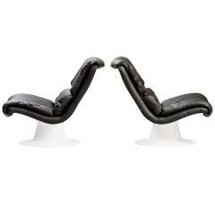 """Yrjo Kukkapuro """"Saturn"""" Chairs for Haimi"""