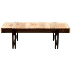 Signed Roger Capron Coffee Table for Vallauris