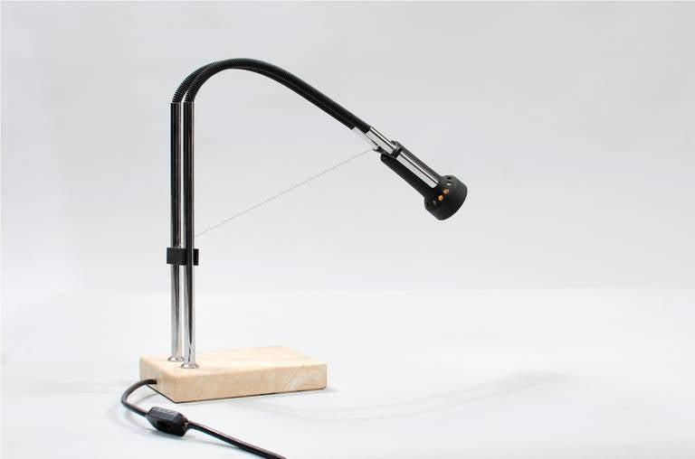 Italian Angelo Lelli Desk Lamp for Arredoluce For Sale