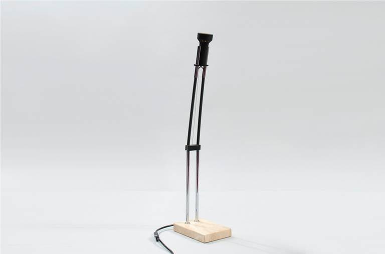 Mid-20th Century Angelo Lelli Desk Lamp for Arredoluce For Sale