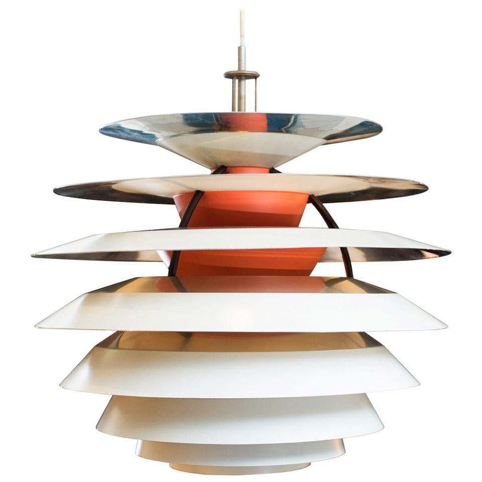 poul henningsen kontrast lamp at 1stdibs. Black Bedroom Furniture Sets. Home Design Ideas
