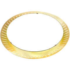 Stilnovo Illuminated Midcentury Round Mirror