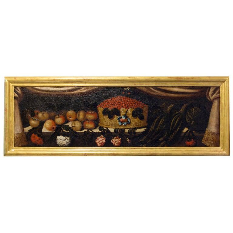 17th century still life portuguese school oil on canvas