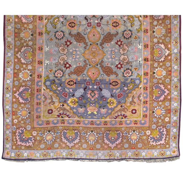 European arts and crafts era carpet at 1stdibs for Arts and crafts carpet