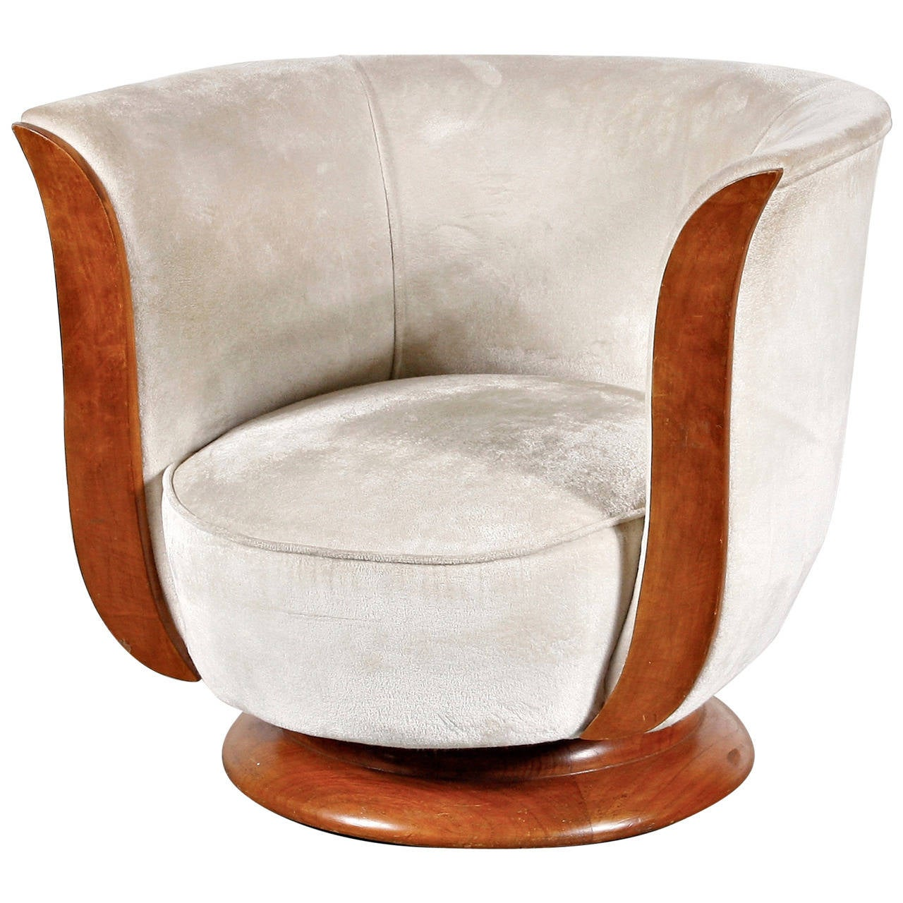 Art Deco Lounge Chair, Hotel Malandre, circa 1930