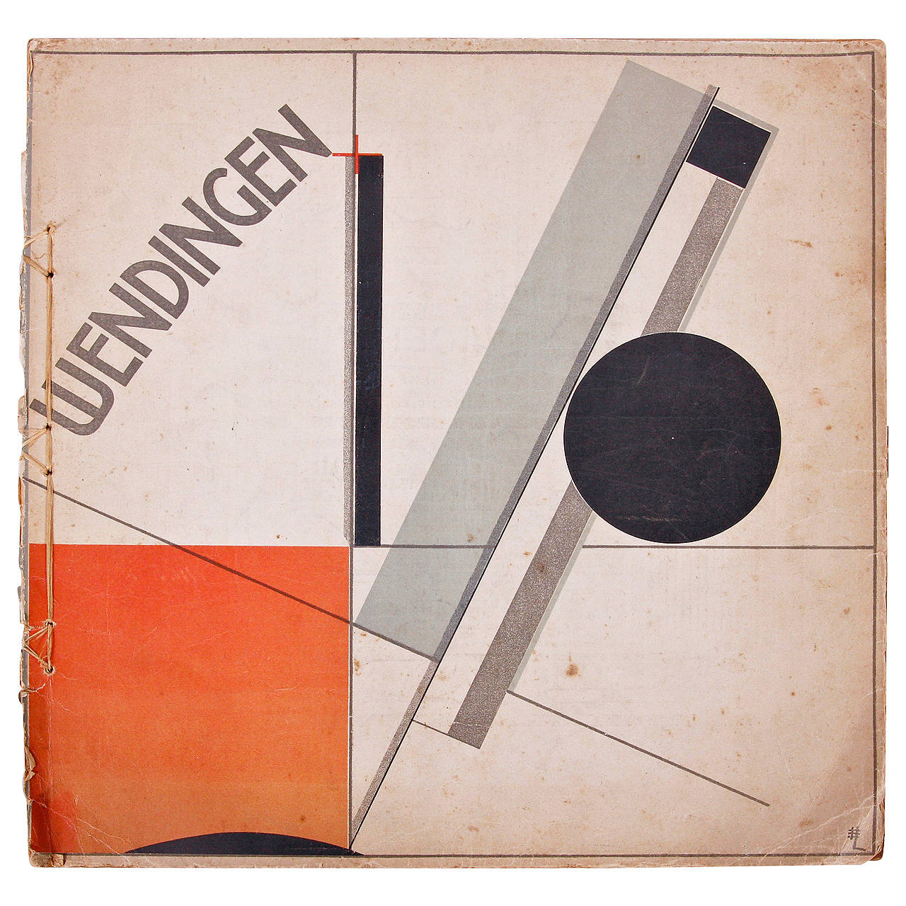 Wendingen, Issue 11, Cover by El Lissitzky, 1921