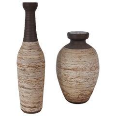 Pair of Ravelli Ceramic Vases