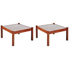 Percival Lafer Pair of Coffee Tables, circa 1960