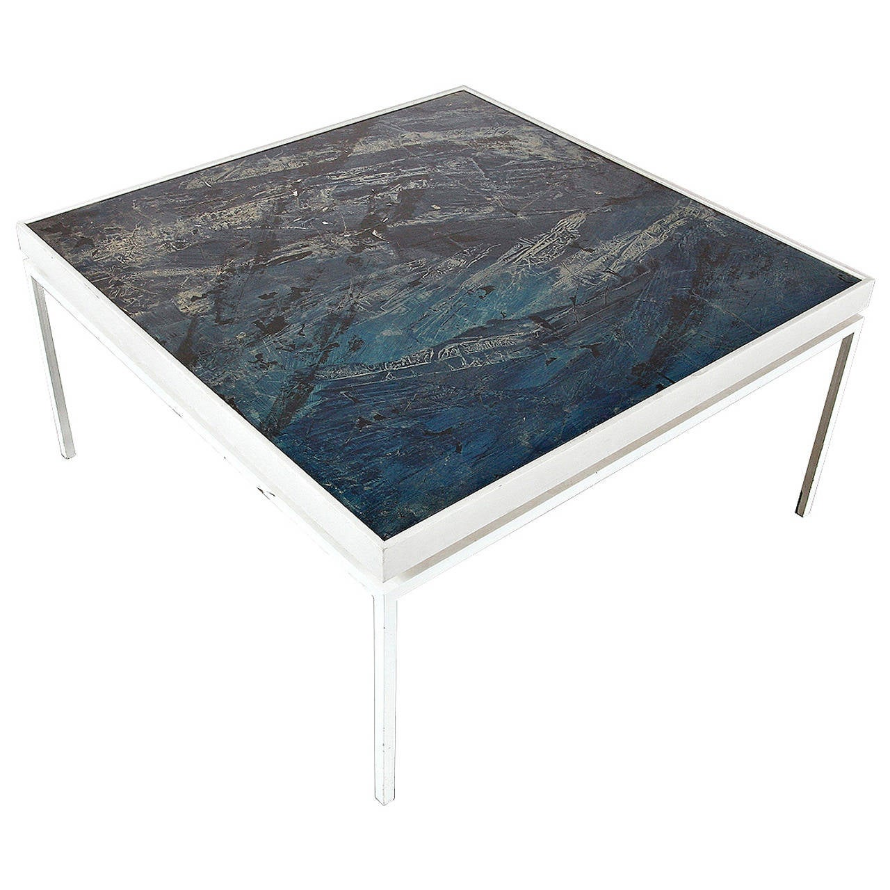 rare pierre paulin coffee table at 1stdibs. Black Bedroom Furniture Sets. Home Design Ideas